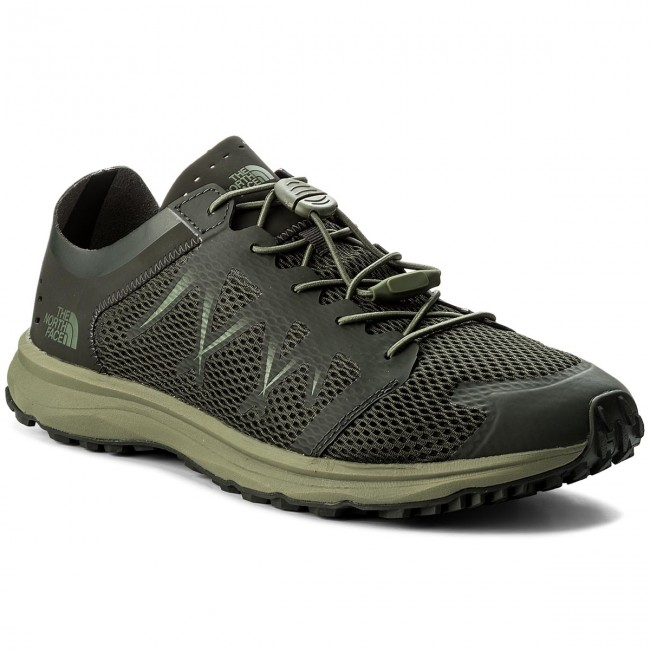 Schuhe THE NORTH FACE-Litewave Flow Lace T92YA94DU Black Ink Green/Four Leaf Clover