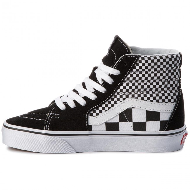 Sneakers VANS-Sk8-Hi VA38GEQ9B (Mix Checker) Black/True