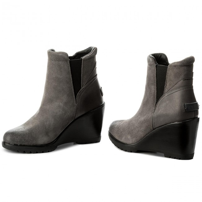 Stiefeletten SOREL-After Hours Chelsea NL2566  Quarry 052 Werbe Schuhe