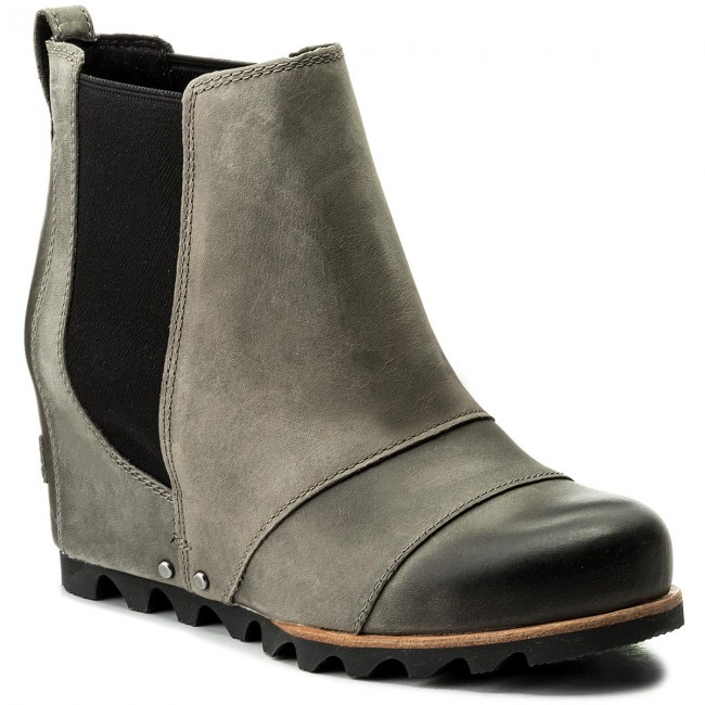 Stiefeletten SOREL                                                    Lea Wedge NL 2704 Dark/Grey/Black 089