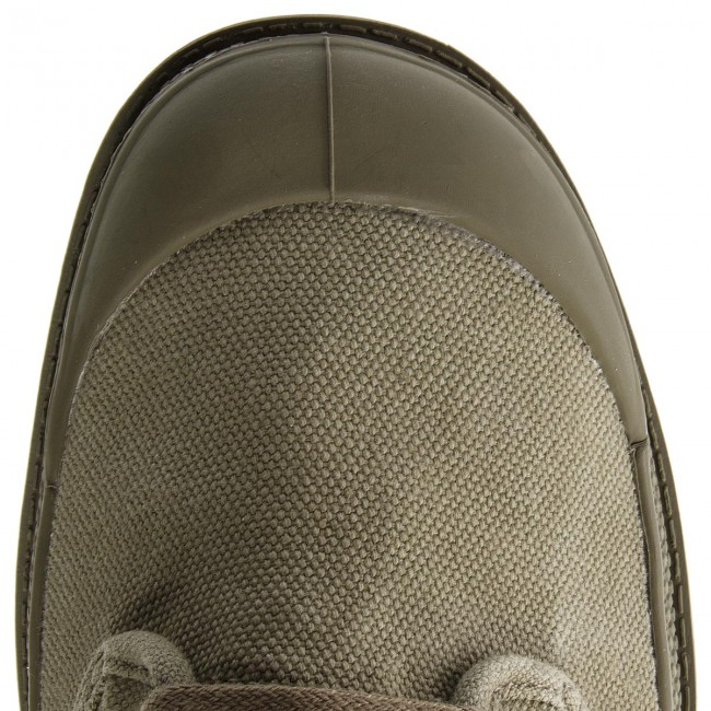 Trapperschuhe Olive PALLADIUM-Pallabrouse Baggy 02478-342-M Vetiver/Burnt Olive Trapperschuhe b8e842