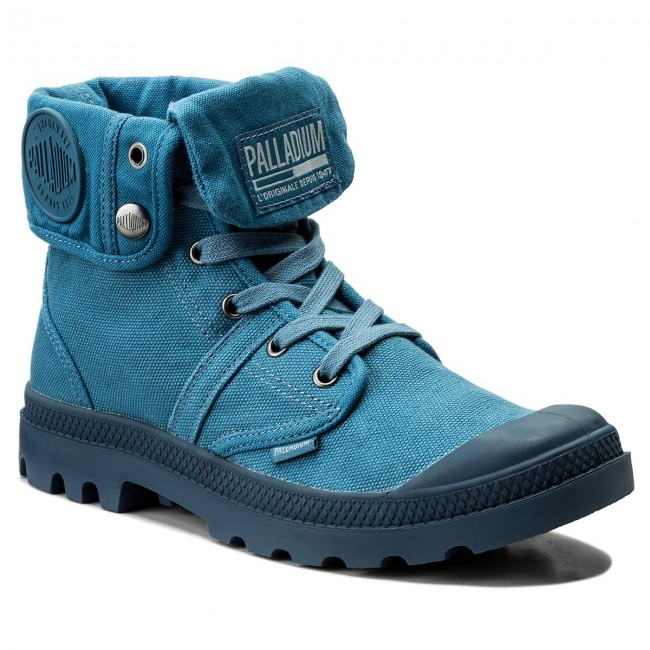 Trapperschuhe PALLADIUM-Pallabrouse Baggy 2478-403-M Capitain Blue/Capitain Bl