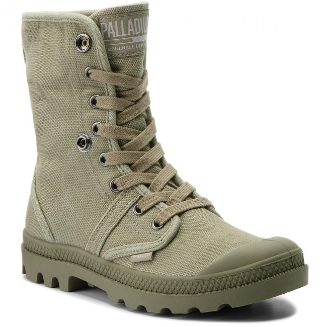 Trapperschuhe PALLADIUM-Pallabrouse Werbe Baggy 92478-342-M Vetiver/Burnt Olive Werbe PALLADIUM-Pallabrouse Schuhe 2bdcfc