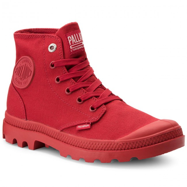 Trapperschuhe PALLADIUM-Mono Chrome 73089-607-M 73089-607-M Chrome Chili Pepper 4a9710