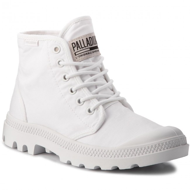 Trapperschuhe PALLADIUM-Pampa Hi Orginale Tc 75554-101-M White/White