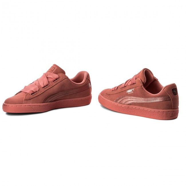 Sneakers PUMA                                                      Suede Heart SNK Jr 364918 05 Shell Pink/Shell Pink 5a0a8d