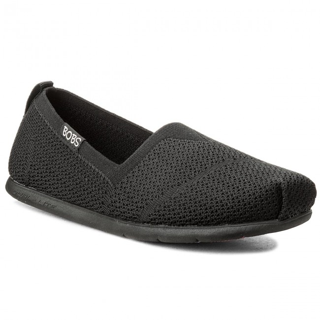 Halbschuhe SKECHERS - BOBS Custom Builit 34459/BBK Black