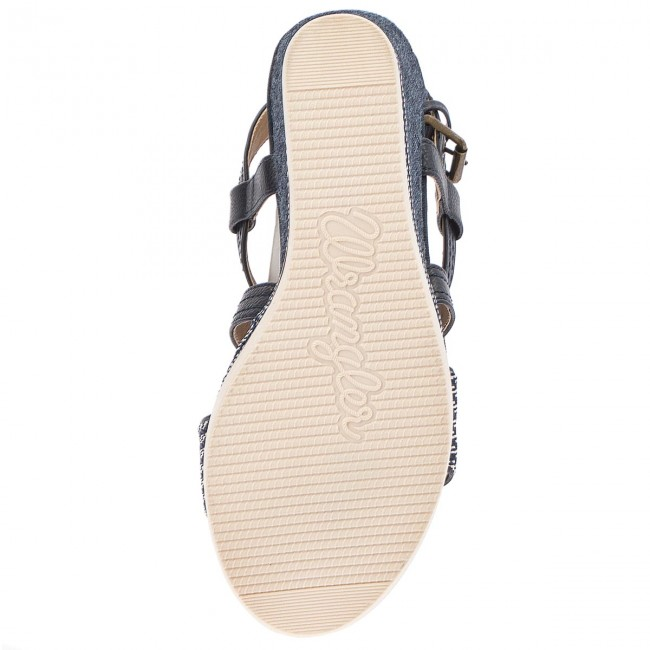 Sandalen WRANGLER WL181640  Sunset Kelly Cross WL181640 WRANGLER Blue 100 9e6ba9