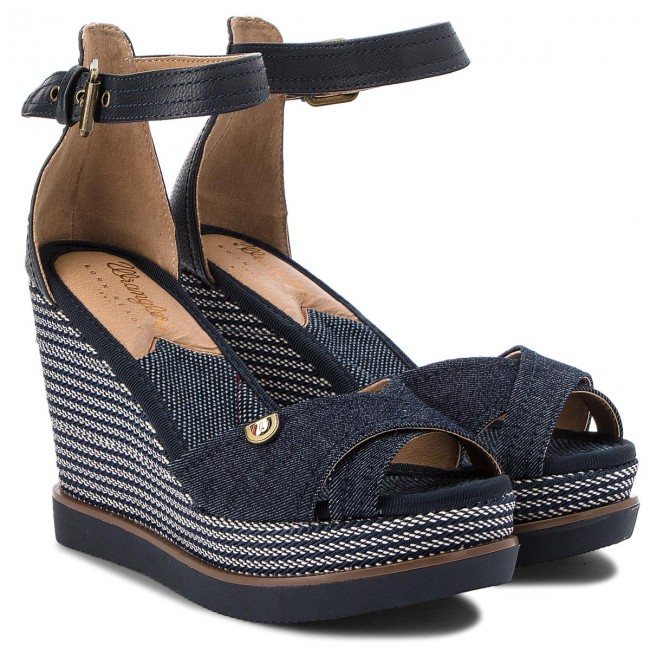 Sandalen WRANGLER                                                      Sunset Kelly WL181641 Blue 100 c46e9b