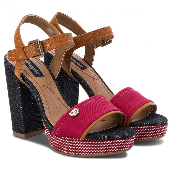 Sandalen WRANGLER - Sunset Alicia WL181644 Navy 16