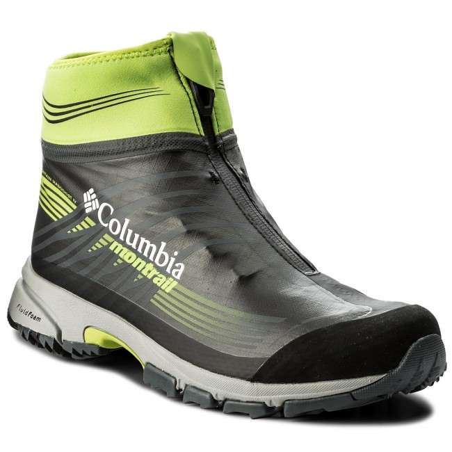 Schuhe COLUMBIA-Mountain Masochist IV 010 OutDry Extreme BM4645 Black/Bright Green 010 IV 1ebd6a