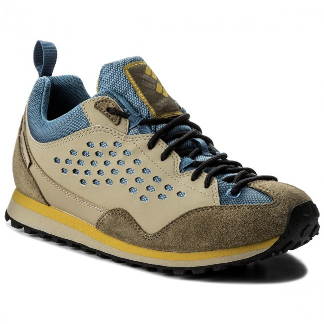 Trekkingschuhe COLUMBIA-D7 Retro BM4661 Steel/Antique Moss 413
