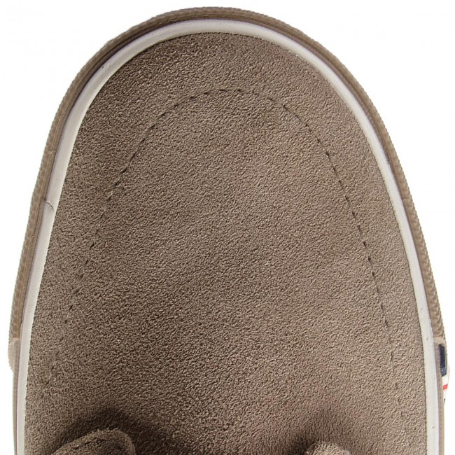 Turnschuhe Taupe WRANGLER-Icon Derby Suede WM181022 Taupe Turnschuhe 29 ff41fc
