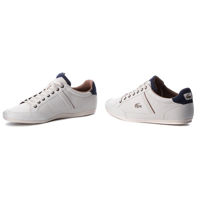 Halbschuhe LACOSTE Turnschuhe LACOSTE Halbschuhe - Chaymon 118 2 Cam 7-35CAM0012WN1 Off Wht Nvy 9283df