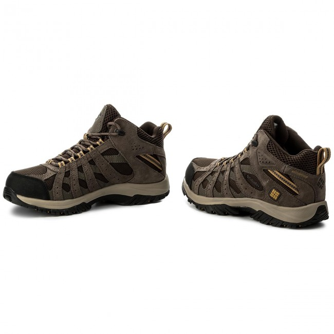 Trekkingschuhe COLUMBIA-Canyon Point Mid 231 Waterproof YM5415 Cordovan/Dark Banana 231 Mid 544403