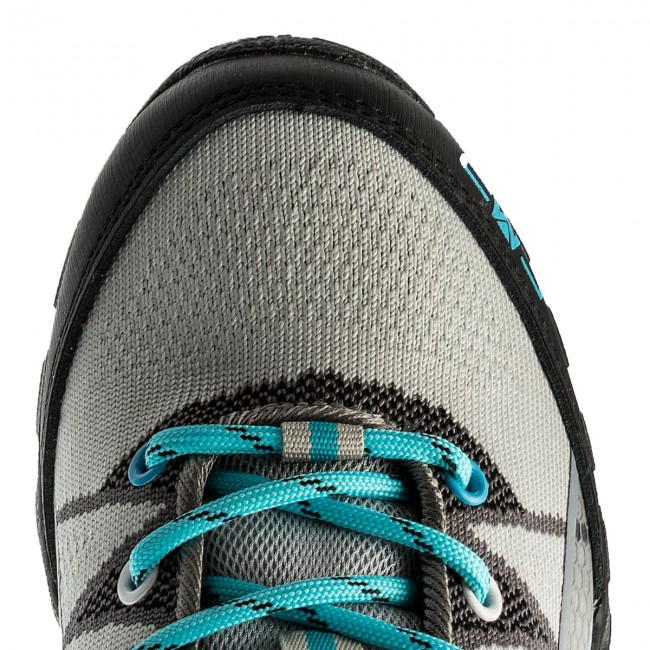 Trekkingschuhe ELBRUS - Pinelas Wo's Turquoise/Light Turquoise/Navy/Orange Mhz95Fo