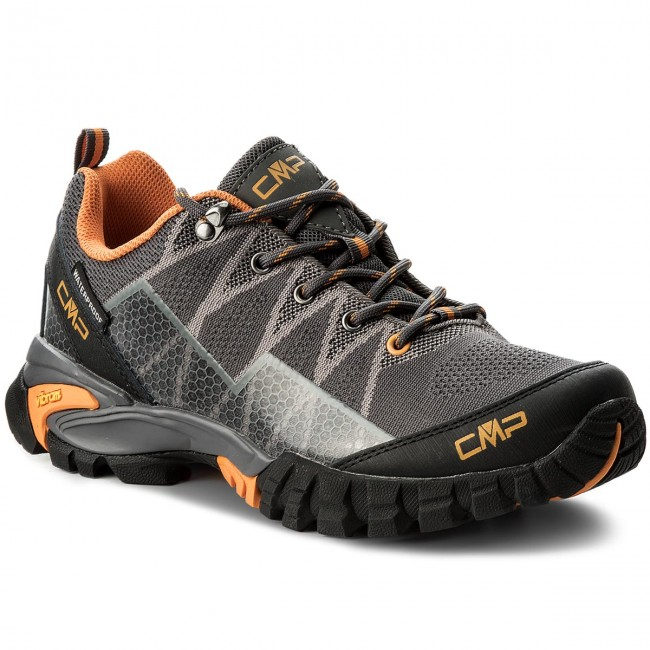 Trekkingschuhe CMP-Tauri Low Trekking Shoes Wp 38Q9967 Grey U862