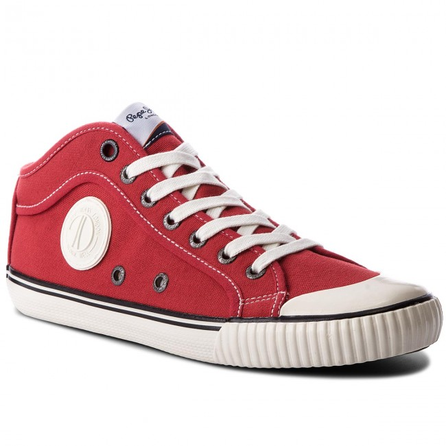 Sportschuhe PEPE JEANS-Industry 1973 PMS30429 Ribbon Red 243