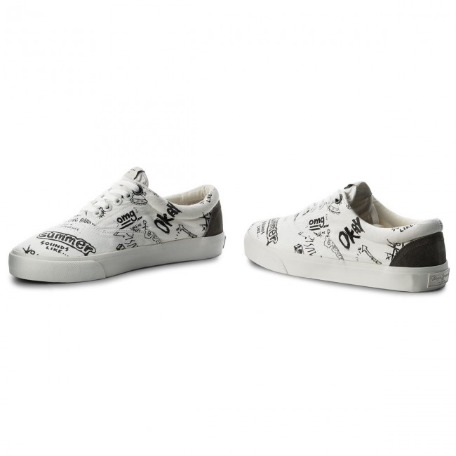 Turnschuhe PEPE JEANS-Harry Laces PMS30425 800 White 800 PMS30425 a3e08f