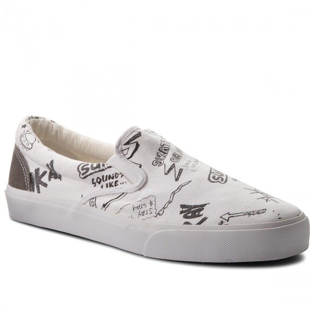 Turnschuhe PEPE JEANS-Harry Slip On PMS30424 White 800
