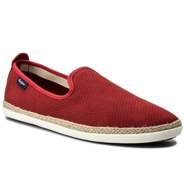 Espadrilles PEPE JEANS-Maui Summer Punching PMS10229 Factory Red 220