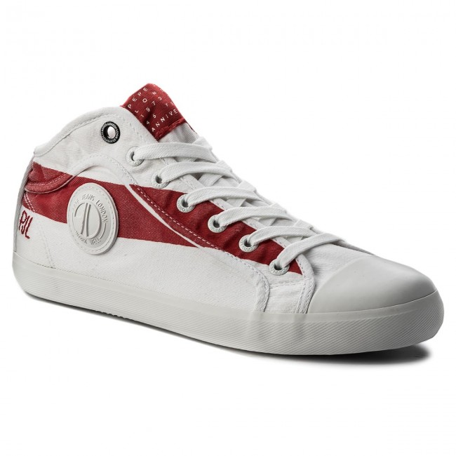 Sportschuhe PEPE JEANS-In 45 PMS30431 Factory Red 220