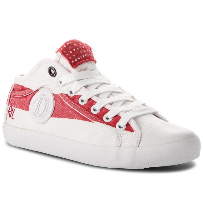 Sportschuhe PEPE JEANS                                                    In 45 PLS30696 Factory Red 220