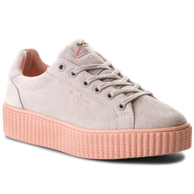 Sneakers PEPE JEANS Frida Seasons PLS30685 Whitewash 811