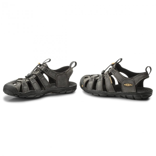 Sandalen Magnet/Black KEEN-Clearwater Cnx Leather 1013107 Magnet/Black Sandalen bc4a4b