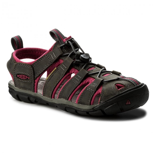 Sandalen KEEN Magnet/Sangria Clearwater Cnx Leather 1014370 Magnet/Sangria KEEN 2d7242