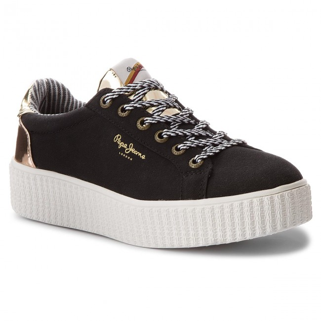 Sneakers PEPE  JEANS     PEPE                                                Frida Mirrow PLS30686 schwarz 999 825820