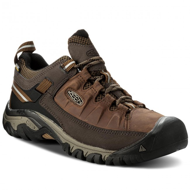 Trekkingschuhe KEEN-Targhee III Wp 1018568 Brown Big Ben/Golden Brown 1018568 fe60ce