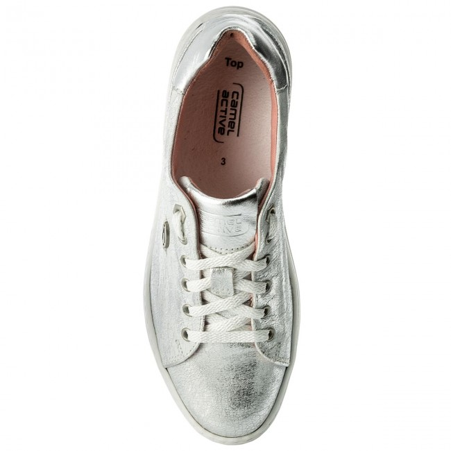Sneakers CAMEL ACTIVE                                                      849.81.01 Weiß/Silver 637f33