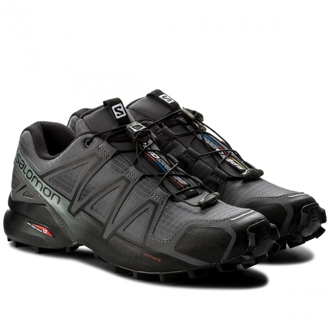 Schuhe 27 SALOMON-Speedcross 4 392253 27 Schuhe V0 Dark Cloud/Black/Pearl grey c5598f