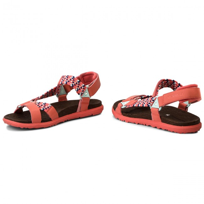 Sandalen MERRELL                                                      Around Town Sunvue Woven J94150 Hot Coral 4afbb8