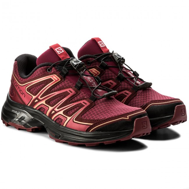 Schuhe SALOMON 21 Wings Flyte 2 W 398466 21 SALOMON W0 Beet Red/Cabernet/Black a6de62