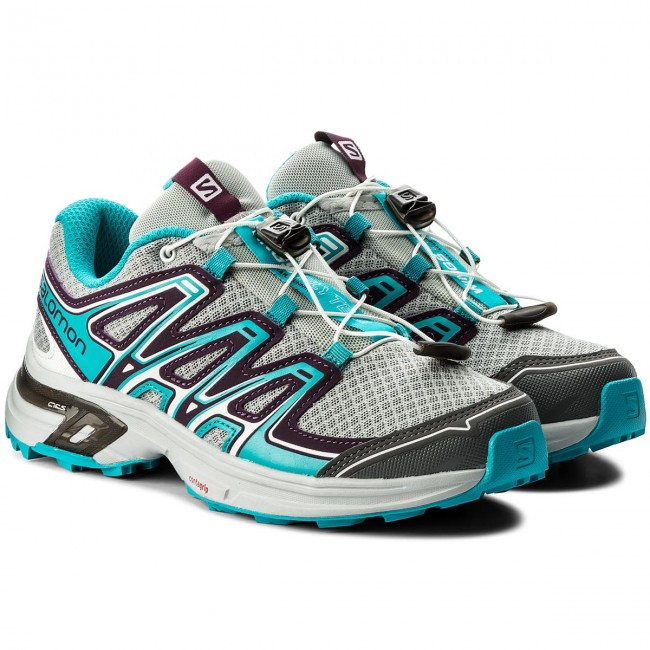 Schuhe SALOMON Wings Wings Wings Flyte 2 W 400707 21 W0 Quarry/Dark Purple/Bluebird e07e20