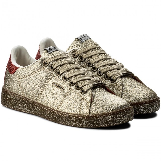 Sneakers PEPE JEANS                                                      Brompton Part PLS30666 Gold 099 708cee