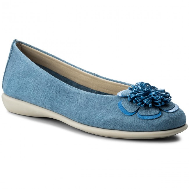 Ballerinas THE FLEXX  Miss Poke A103/38 Denim/ Bluette