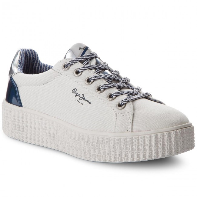 Sneakers PEPE JEANS Frida Mirrow PLS30686 White 800