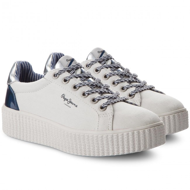Sneakers PEPE JEANS                                                      Frida Mirrow PLS30686 Weiß 800 11921c