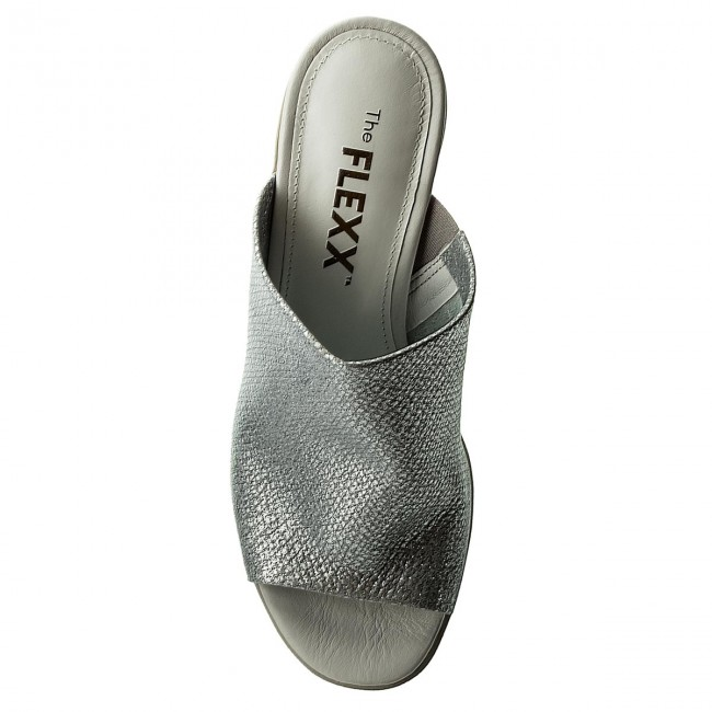 Pantoletten THE FLEXX                                                      Girls Night C608/13 Silver 3b6847