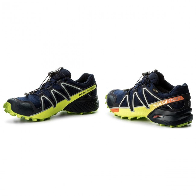 Schuhe SALOMON-Speedcross 27 4 Gtx GORE-TEX 400938 27 SALOMON-Speedcross V0 Medieval Blue/Acid Lime/Graphite 85526d