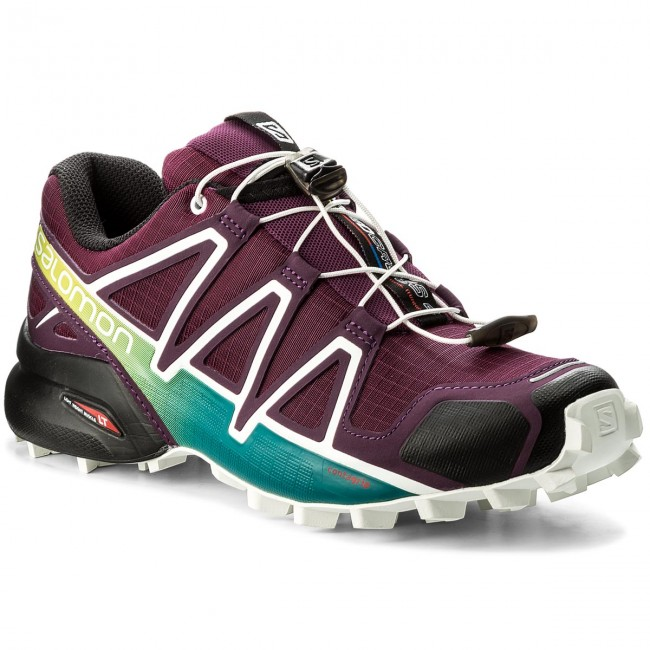 Schuhe SALOMON Speedcross 4 W 401361 23 V0 Dark Purple/White/Deep Lake