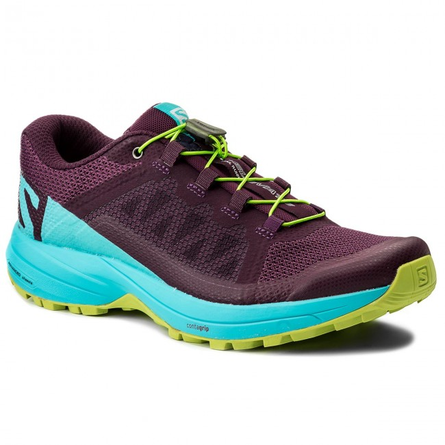 Schuhe SALOMON                                                    Xa Elevate W 401378 22 V0 Dark Purple/Blue Curacao/Acid Lime