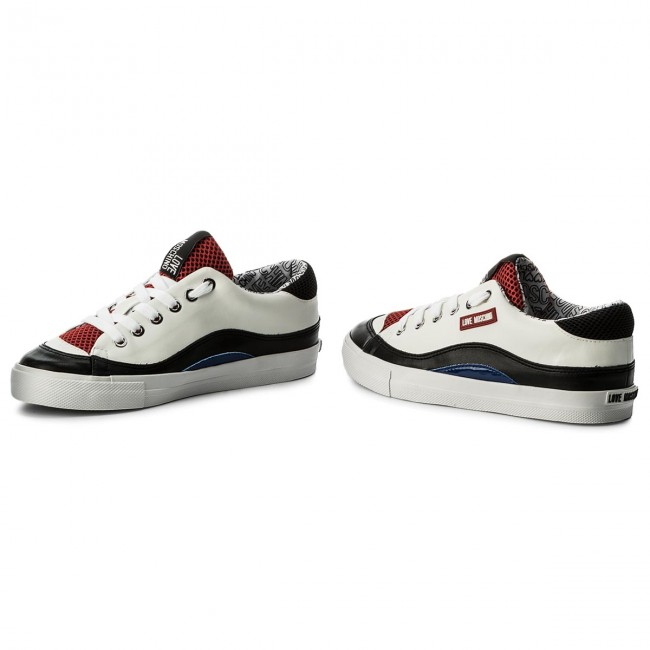 Sneakers LOVE MOSCHINO                                                    JA15423G05JA210A Vit.Bl/Ve.Bl/Re.Ro