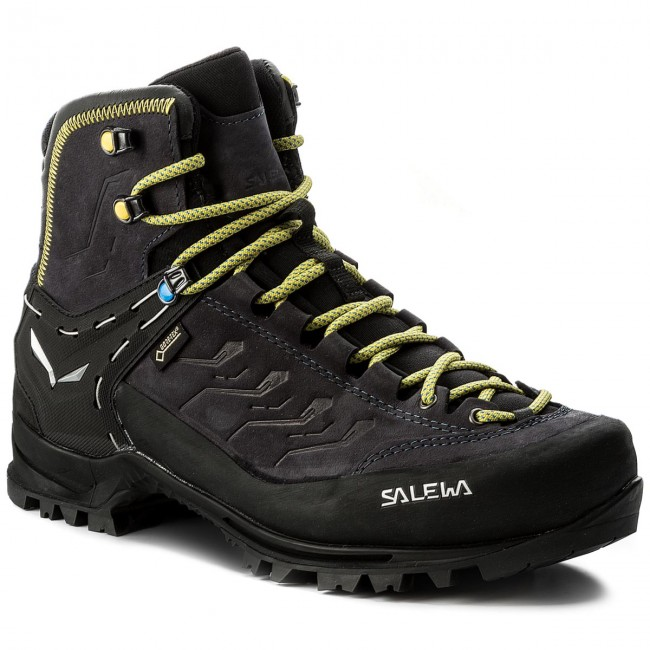 Trekkingschuhe SALEWA-Rapace Gtx GORE-TEX 61332-0960 Night Black/Kamille