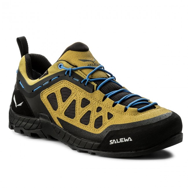 Trekkingschuhe SALEWA-Firetail 3 Golden Gtx GORE-TEX 63445-1400 Golden 3 Palm/Black Out 586bc9