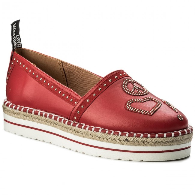 Espadrilles LOVE MOSCHINO       MOSCHINO                                               JA10233G05JA0500 Rosso d824af