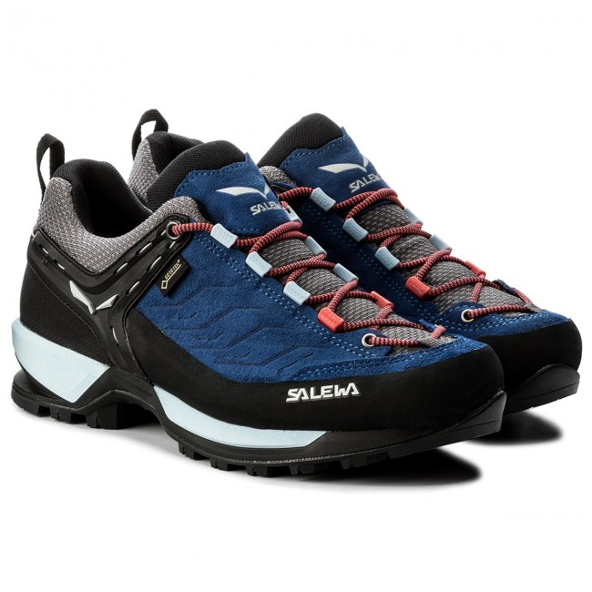 Trekkingschuhe SALEWA Mtn Trainer Gtx GORE-TEX 63468-8673 Dark Denim/Papavero
